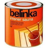 Belinka Interier Sauna (Белинка Интериор Сауна) - водная лазурь для бань и саун