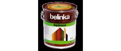 Belinka Toplasur (Белинка ТопЛазурь) - толстослойная краска-лазурь для древесины